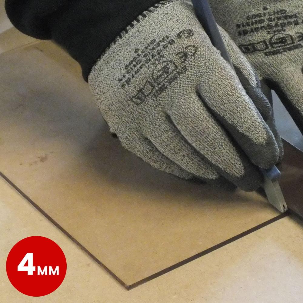 Heat Resistant Stove Door Glass 4mm
