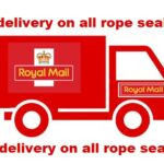 Free postage on all rope and gasket orders.